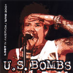 US BOMBS, lost in america live 2001 cover