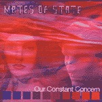 Cover MATES OF STATE, our constant concern