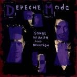 Cover DEPECHE MODE, songs of faith & devotion
