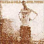 Cover NEIL YOUNG, silver & gold