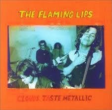 Cover FLAMING LIPS, clouds taste metallic