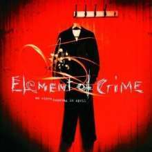 Cover ELEMENT OF CRIME, an einem sonntag im april