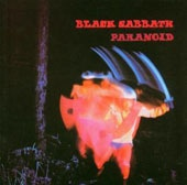 BLACK SABBATH, paranoid cover