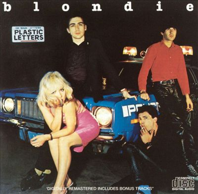 Cover BLONDIE, plastic letters