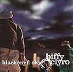 Cover BIFFY CLYRO, blackened sky