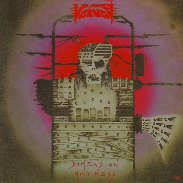 Cover VOIVOD, dimension hatröss