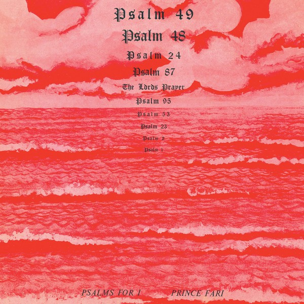 Cover PRINCE FAR I, psalms for i