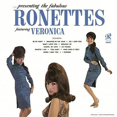 Cover RONETTES, presenting the fabulous ...