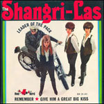 Cover SHANGRI-LAS, leader of the pack