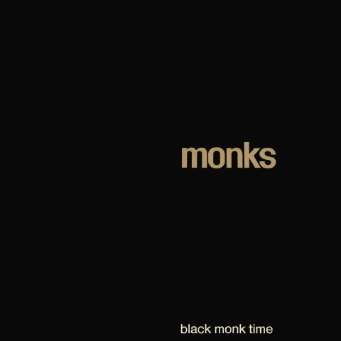 Cover MONKS, black monk time