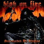 HIGH ON FIRE, surrounded by thieves cover