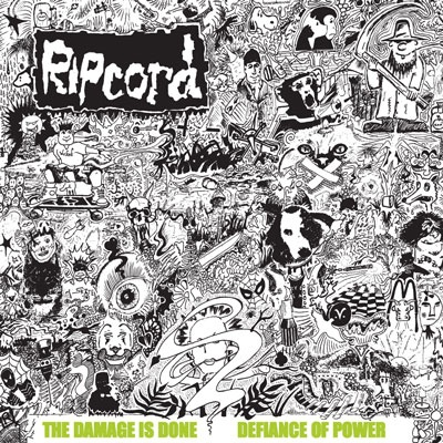 Cover RIPCORD, discography vol. 1