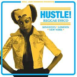 V/A, hustle! reggae disco cover