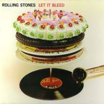 ROLLING STONES, let it bleed cover