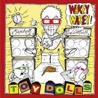 TOY DOLLS, wakey wakey! cover