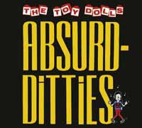Cover TOY DOLLS, absurd-ditties