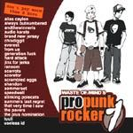 Cover V/A, waste of mind´s - pro punkrocker 1
