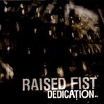 RAISED FIST, dedication cover