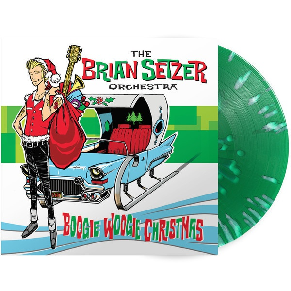 Cover BRIAN SETZER, boogie woogie christmas