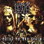 NAPALM DEATH, order of the leech cover
