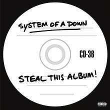 Cover SYSTEM OF A DOWN, steal this album