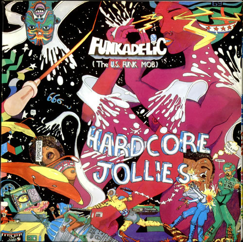 Cover FUNKADELIC, hardcore jollies