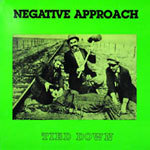 Cover NEGATIVE APPROACH, tied down
