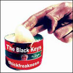 BLACK KEYS, thickfreakness cover