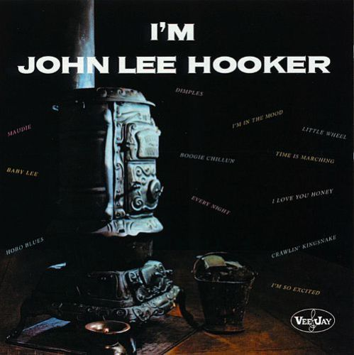 JOHN LEE HOOKER, i´m john lee hooker cover