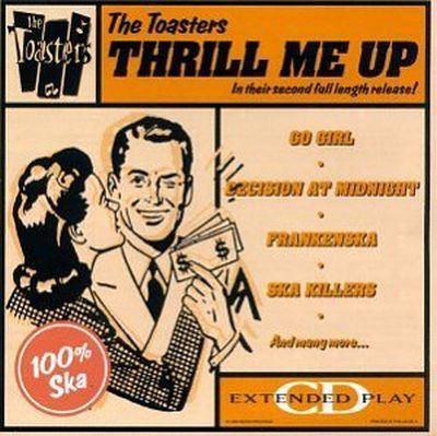TOASTERS, thrill me up cover