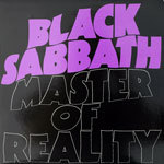 BLACK SABBATH, master of reality cover