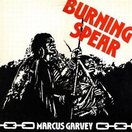 Cover BURNING SPEAR, marcus garvey