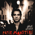 DAVE GAHAN, paper monsters cover