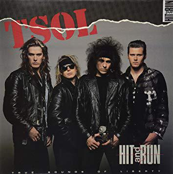 T.S.O.L., hit and run cover
