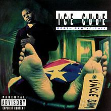 ICE CUBE, death certificate cover