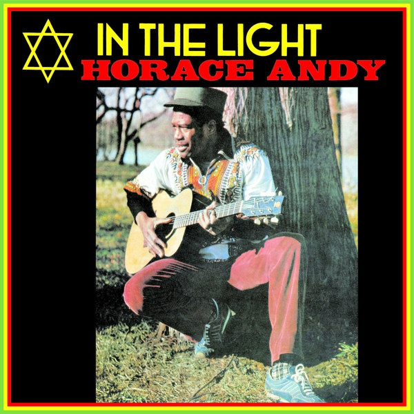 Cover HORACE ANDY, in the light