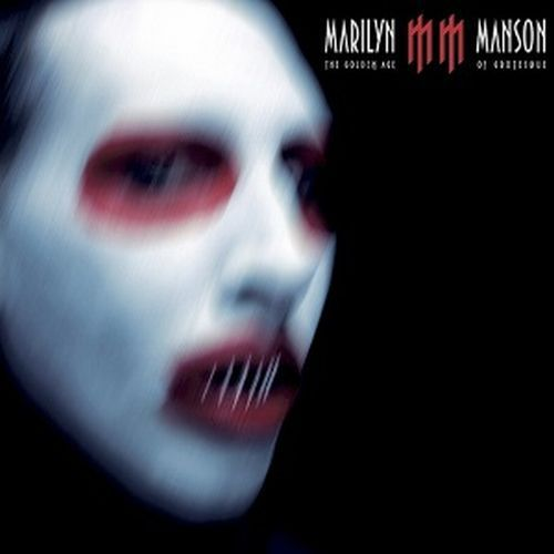 Cover MARILYN MANSON, golden age of