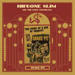 HIPBONE SLIM, snake pit cover