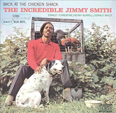 JIMMY SMITH, back at the chicken shack cover