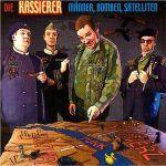 KASSIERER, männer, bomben, satelliten cover