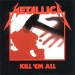Cover METALLICA, kill em all