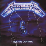 Cover METALLICA, ride the lightning