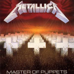 Cover METALLICA, master of puppets
