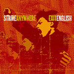 STRIKE ANYWHERE, exit english cover