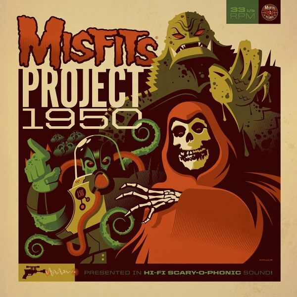 MISFITS, project 1950 cover