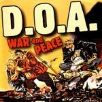 Cover D.O.A., war & peace