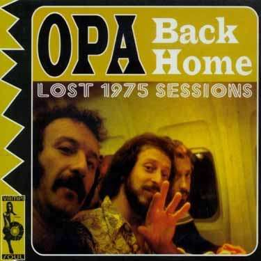 OPA, back home cover