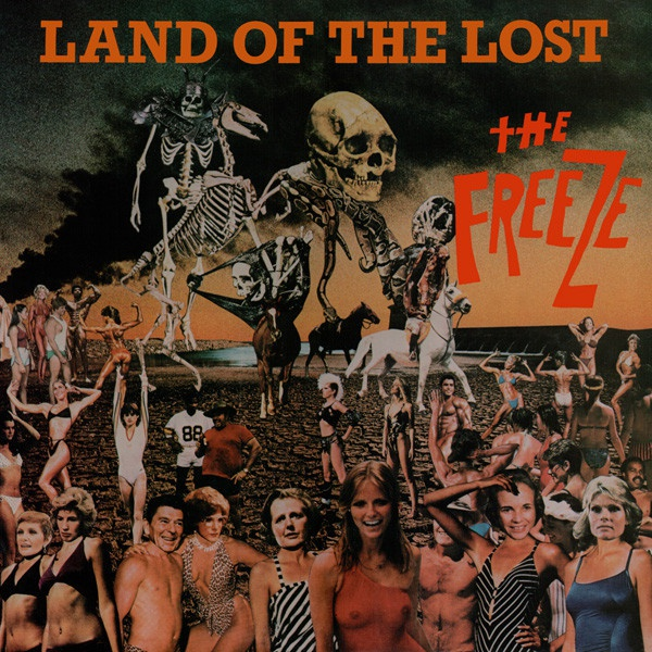 FREEZE, land of the lost cover