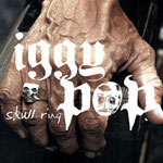IGGY POP, skull ring cover