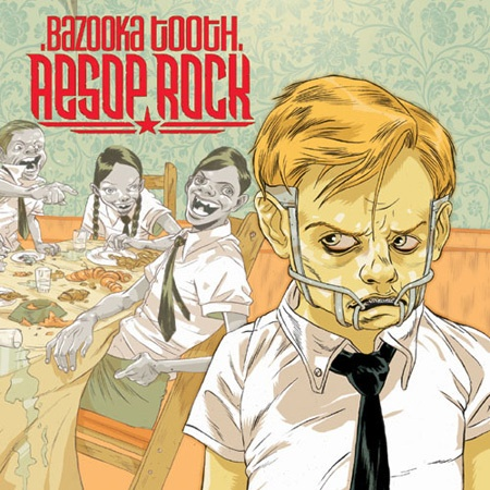 Cover AESOP ROCK, bazooka tooth